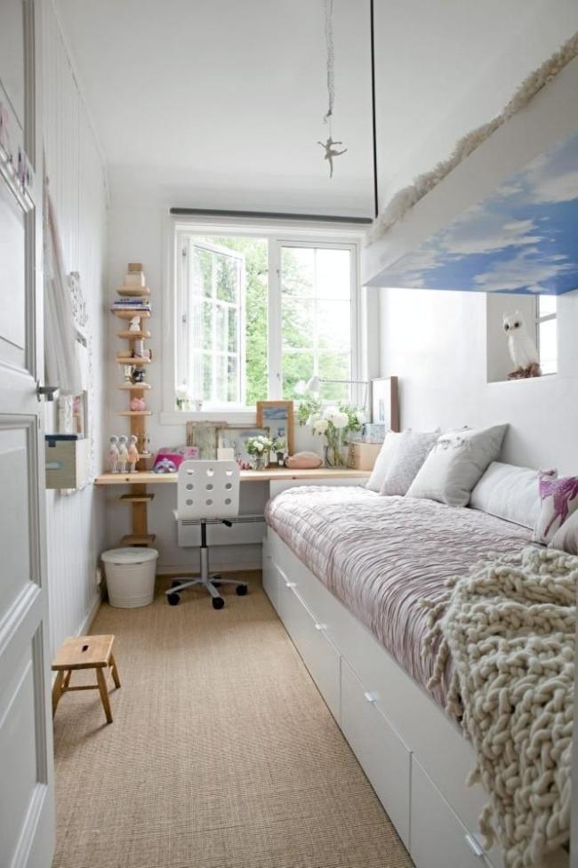 camere mici câștigare spațiu