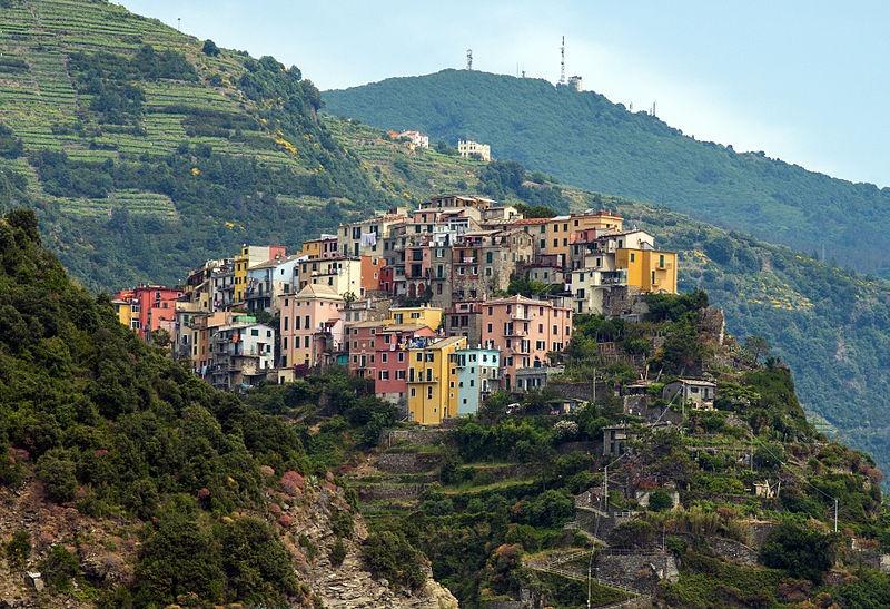 cinque terre orașe colorate