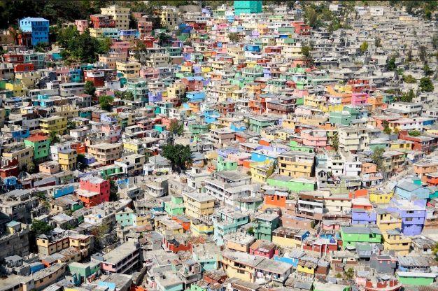 jalousie orașe colorate