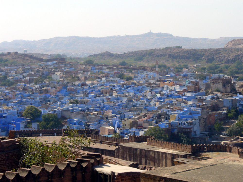 jodhpur orașe colorate