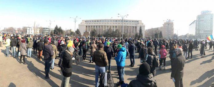Se reaprind protestele în România (Foto: Călin Cătălin)