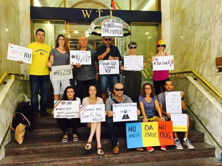 Românii au protestat și în Sidney, Australia (Foto: Bogdan Aramă)