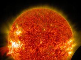 Soarele are o masă de 1.989.100.000.000.000.000.000 miliarde de kilograme Foto: NASA Goddard Space Flight Center