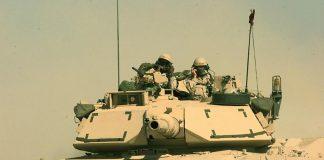 Tancul M1 Abrams este mult mai performant decât vehiculele blindate ale armatei române (Wikimedia Commons)