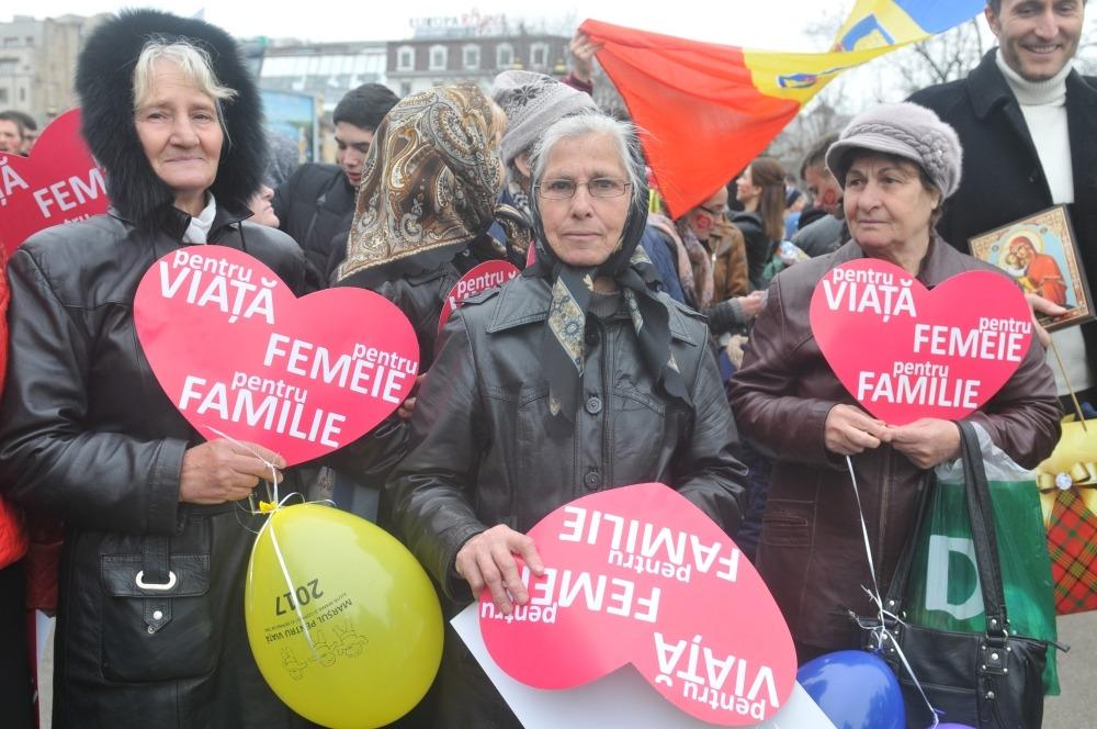 marșul pentru viață anti-avort bucurești