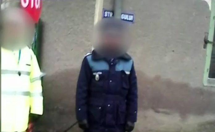 amendă facebook polițist