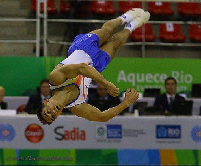 Marian Drăgulescu a cucerit prima medalie de aur a României la Europenele de Cluj (Foto: Facebook)