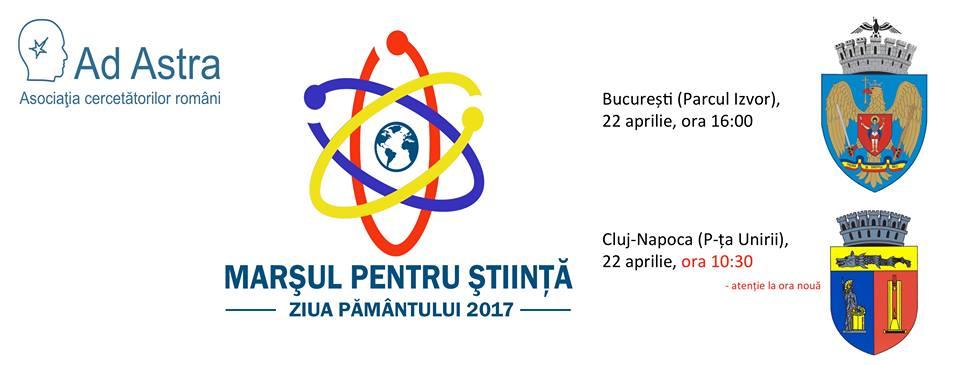 marșul pentru știință