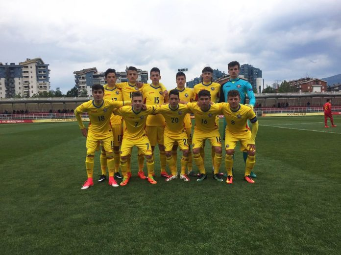Naționala României formată din jucători născuți în anul 2001 a fost învinsă de reprezentativa similară a micuțului stat Liechtenstein (Foto: FRF)