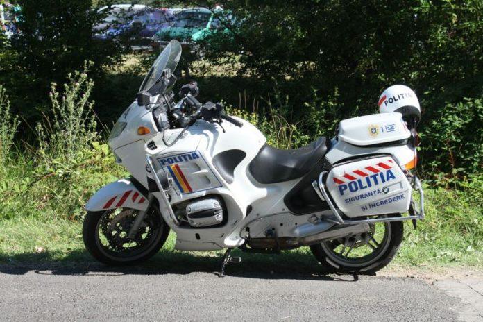 politia romana motocicleta polita rutiera