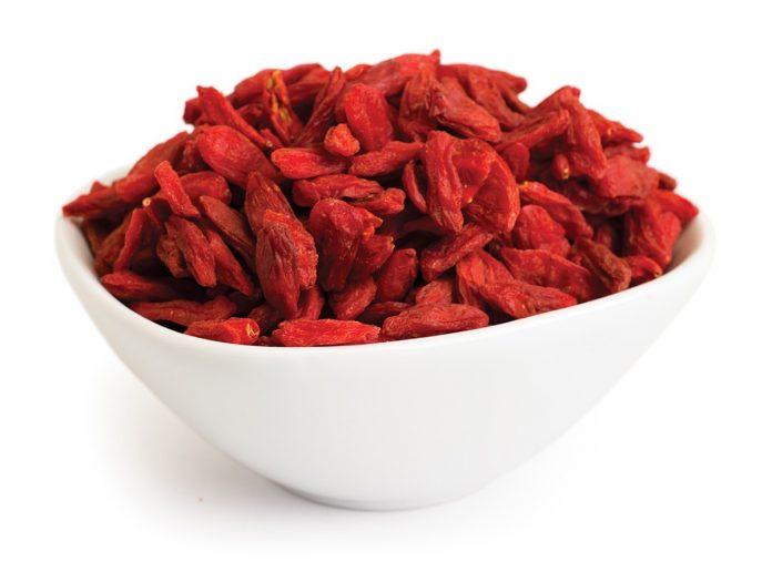 Fructele goji sunt o sursă importantă de antioxidanți (Foto: Stan Jones / Flickr Creative Commons)