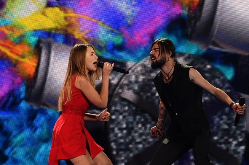 Finala Eurovision 2017: Ilinca și Alex Florea (Foto: Eurovision.tv)