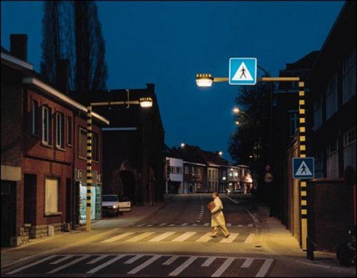Trecerea de pietoni inteligentă din Brașov dorește să prevină accidentele rutiere din oraș (Foto: Brașov Events)