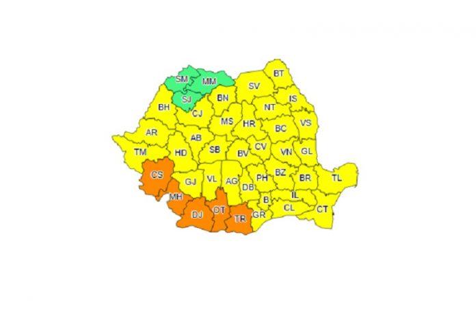 Valul de căldură va cuprinde aproape toată suprafața României în aceste zile. Foto: meteoromania.ro