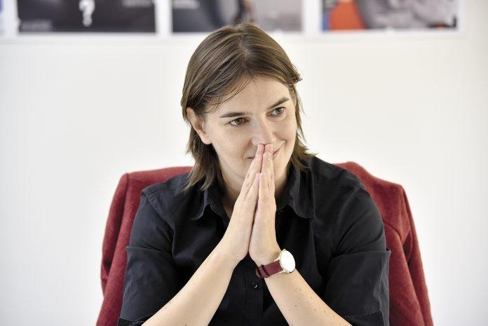 Ana Brnabici, noul premier al Serbiei (Foto: ekspres.net)