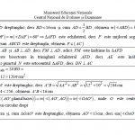 barem matematică evaluarea națională 2017
