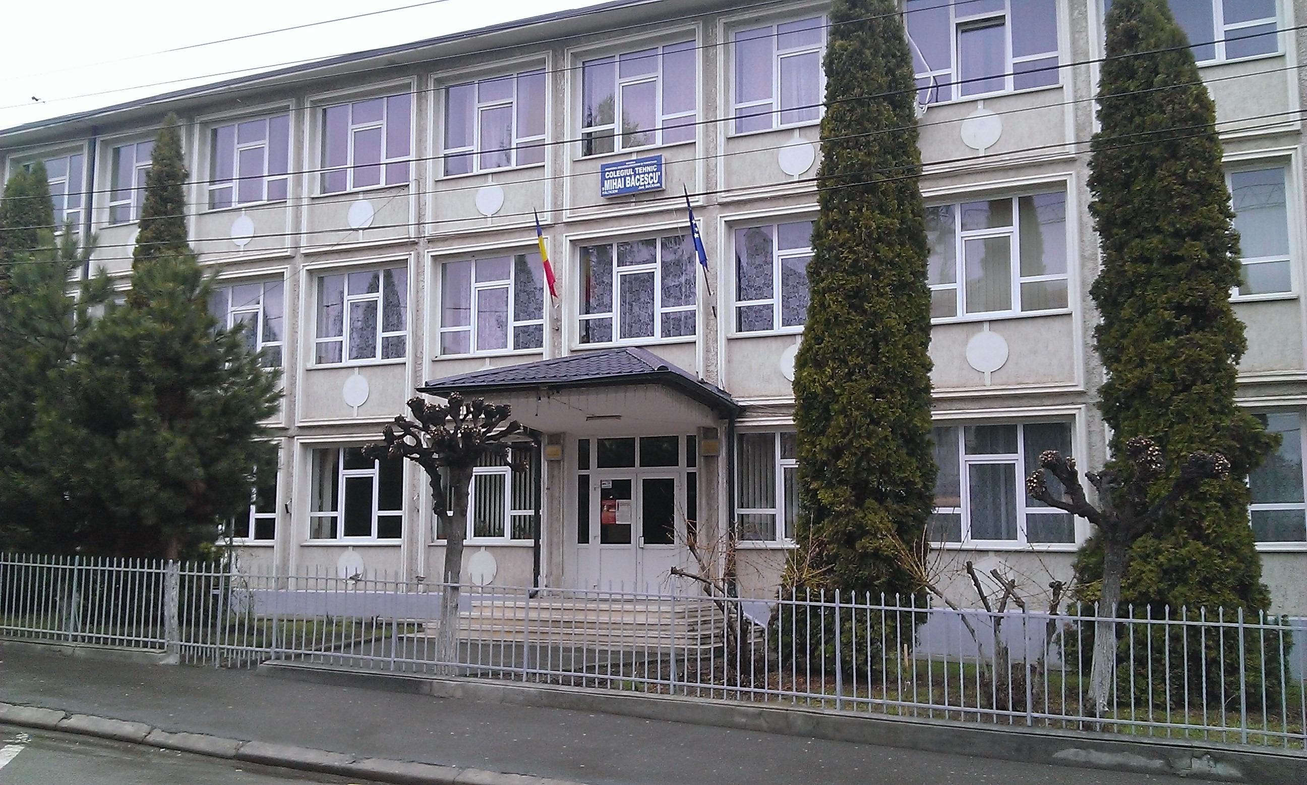 Colegiul Mihai Băcescu, Fălticeni