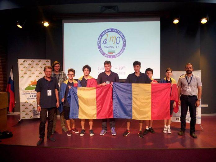 Elevii români au strălucit la Olimpiada Balcanică de Matematică pentru Juniori. Foto: Societatea de Științe Matematice din România