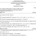 subiecte bacalaureat matematică 2017 pedagogic