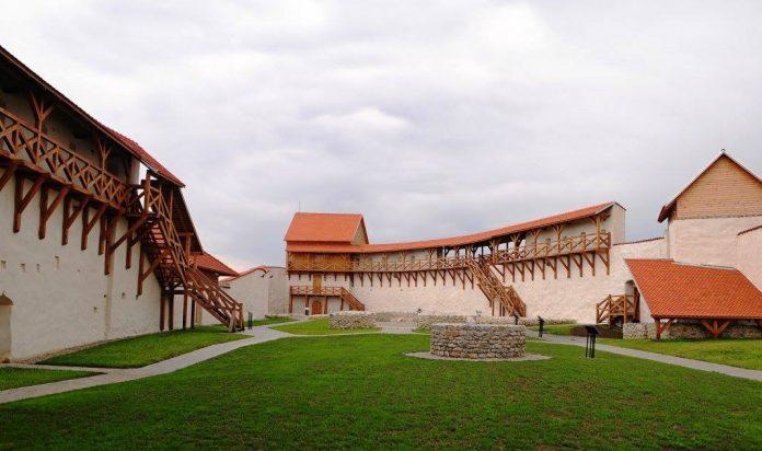 Așa arată acum Cetatea Feldioara. Foto: Ministerul Culturii