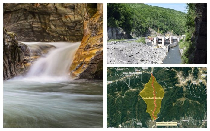 hidrocentrală defileul jiului