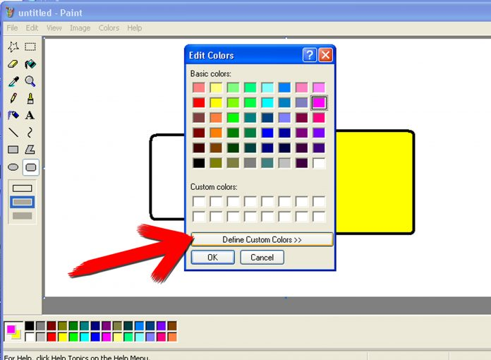 Microsoft Paint. Foto: Windows