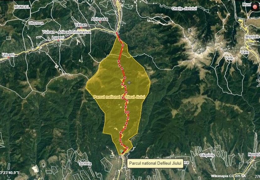 Parcul Național Defileul Jiului