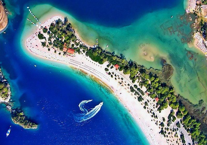 plajă turcia albastră limpede
