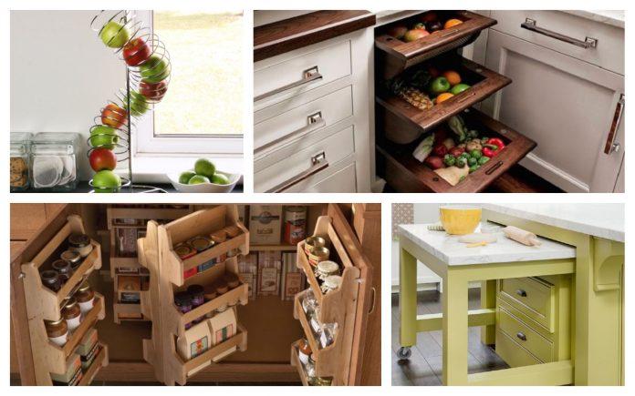 câștigare spațiu bucătărie mică