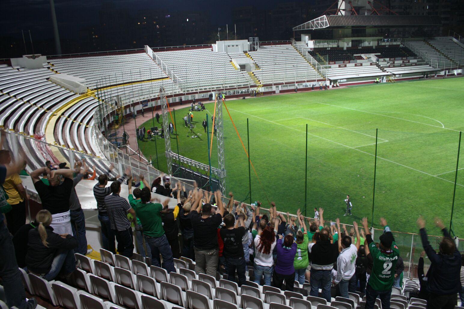 Stadioanele din România sunt mai mult goale decât pline. Foto: funky1opti / Flickr