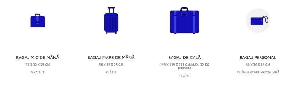 wizz air bagaje de mână