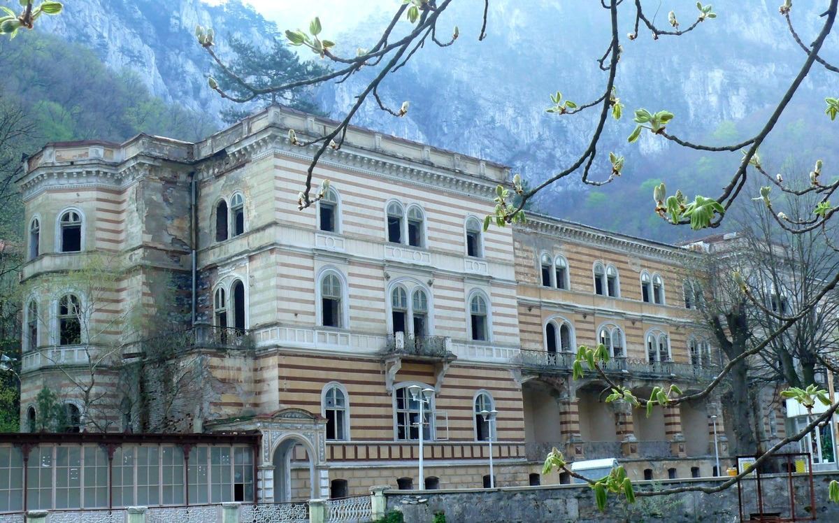 Hotel Decebal FOTO:Dora Domsa/Wikimedia Commons