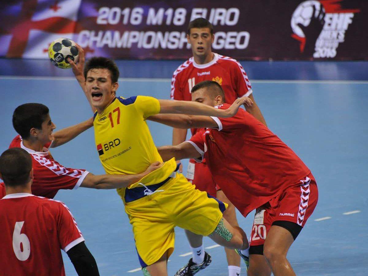 Andrei Buzle a marcat la debut, în meciul cu Polonia, însă România a ratat calificarea la Europene. Foto: radiotimisoara.ro