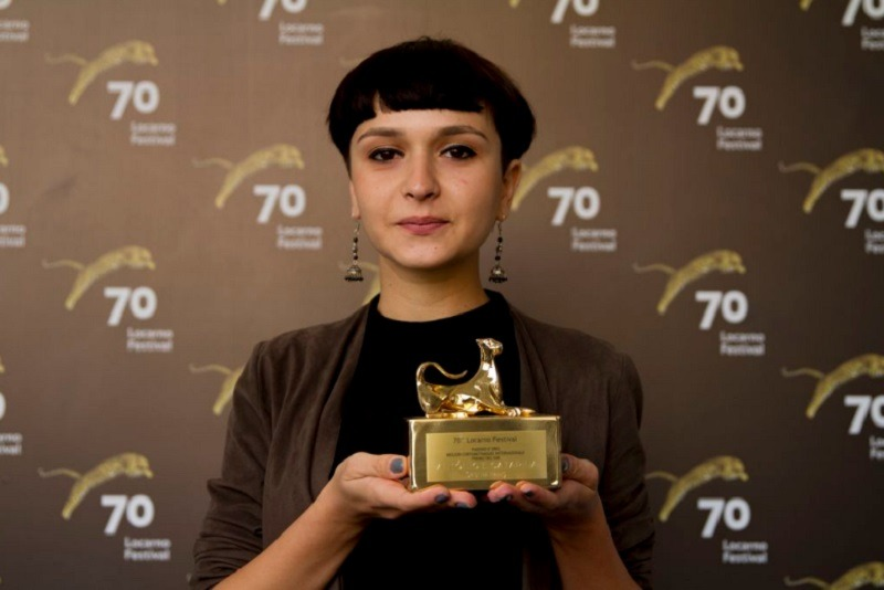 Cristina Hanes a câștigat un premiu la Locarno