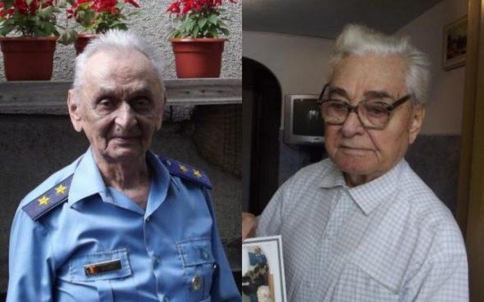 Generalii Ion Dobran şi Gheorghe Constantin, veterani ai celui de-Al Doilea Război Mondial. Foto: Adevărul