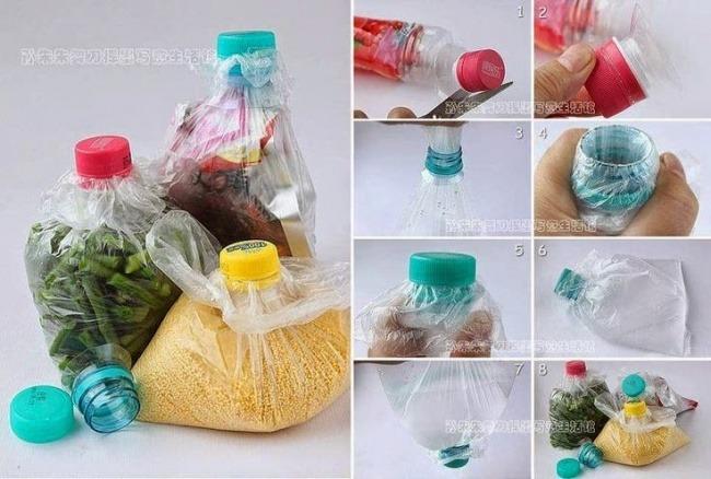 idei reciclare sticle plastic