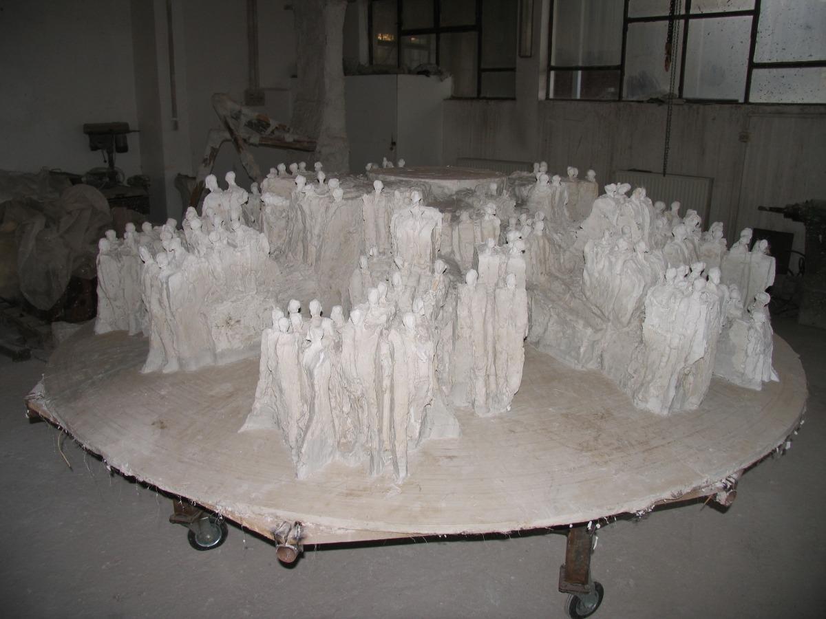 machetă monumentul marii uniri ioan bolborea