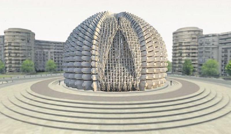 Monumentul Marii Uniri nu va mai fi ridicat în București. Foto: Youtube