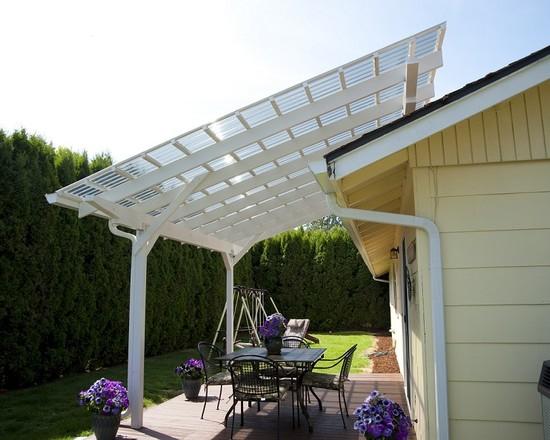 policarbonat acoperiș