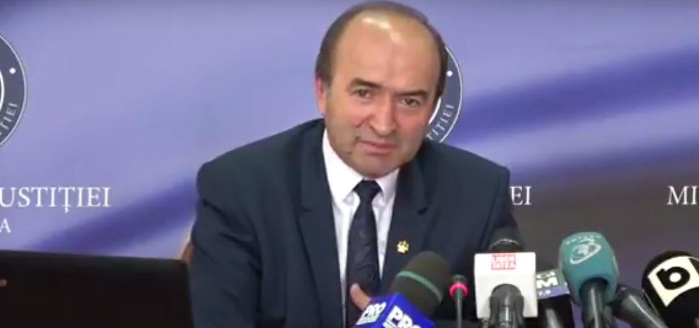 Tudorel Toader, ministrul Justiției. Foto: Youtube
