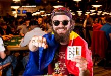 Alexandru Papazian a câștigat o brățară World Series of Poker în acest an. Foto: WSOP