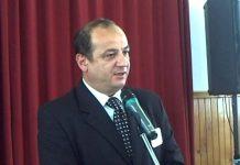 Primarul din Copșa Mică, Daniel Mihalache, vrea să ajungă pe jos în Capitală. Foto: Sibiu 100%