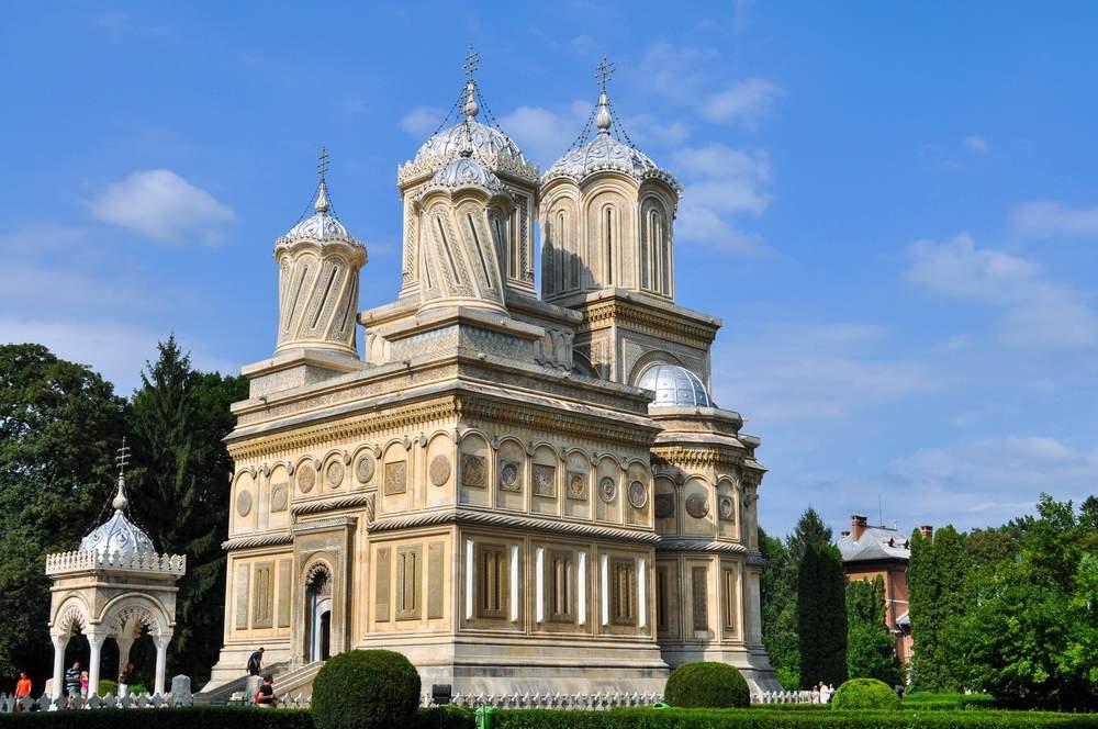Mănăstirea Curtea de Argeș este și necropola regală. Foto: Arhiepiscopia Argeșului și Muscelului