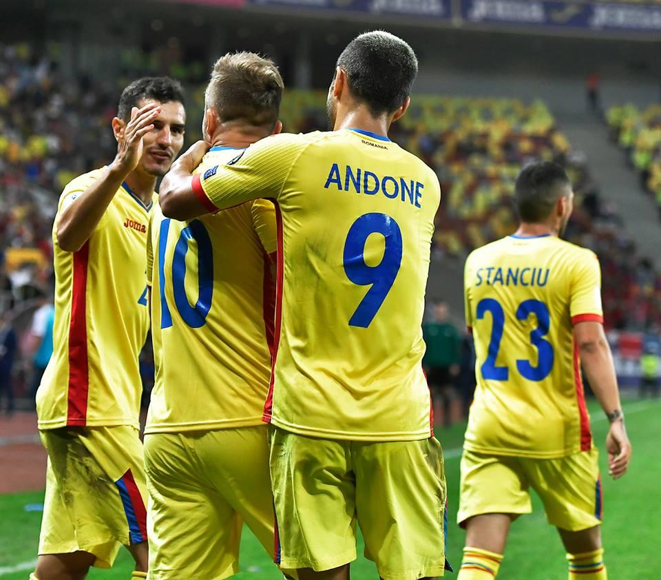 Naționala României își joacă ultima carte în drumul către Cupa Mondială din 2018. Foto: FRF