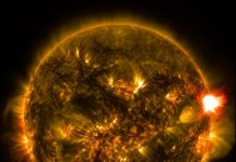 Soarele. Foto: NASA Goddard Space Flight Center Follow