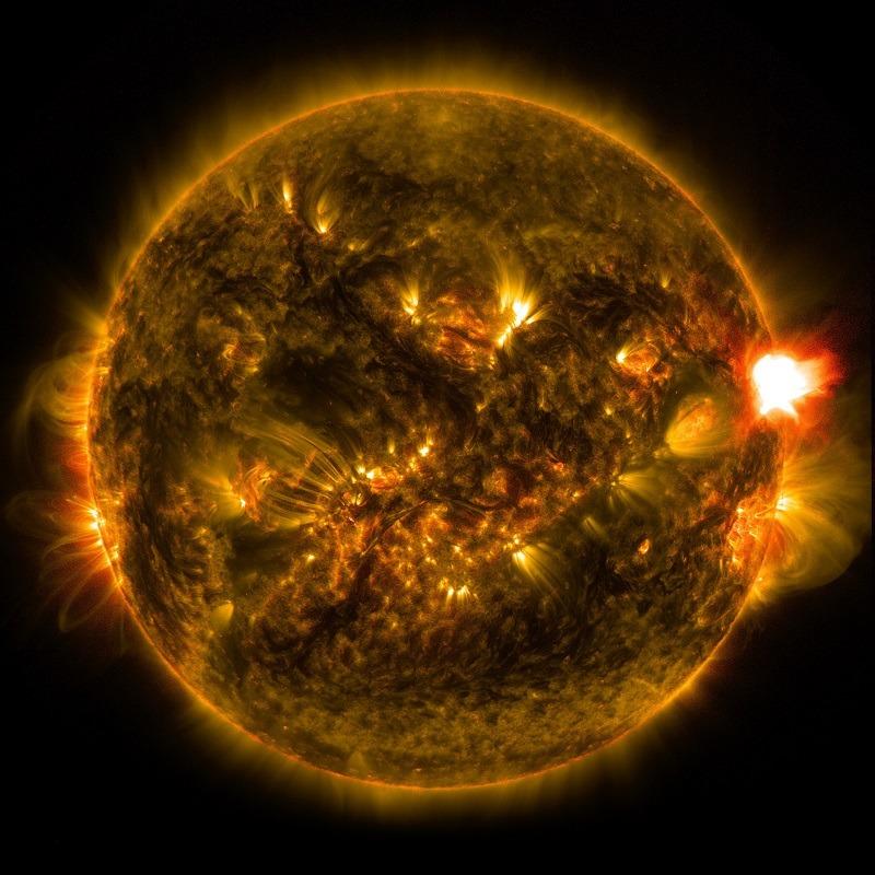 Soarele. Foto: NASA Goddard Space Flight Center Follow
