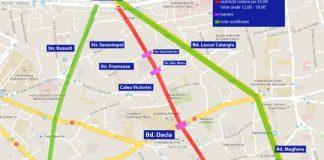 trafic restricționat azi bucurești 23 septembrie