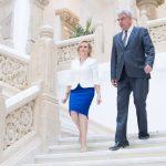 Gabriela Firea și Mihai Tudose FOTO: Gov.ro