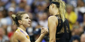Simona Halep se pregătește de un duel cu Maria Șarapova. Foto: WTA
