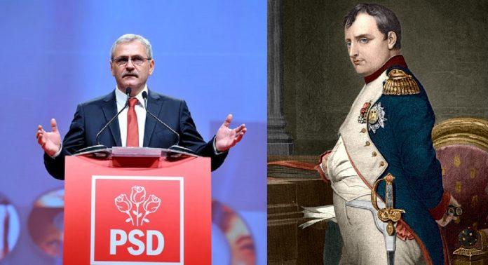Liviu Dragnea, comparat de liderul PSD Cluj cu Napoleon Bonaparte